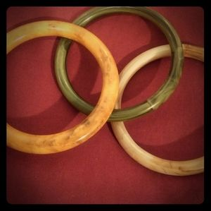 Set of 3 Vintage Bakelite